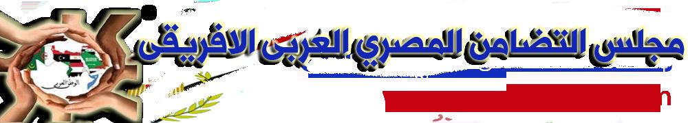 مجلس التضامن المصري العربي الافريقي آخر الأخبار